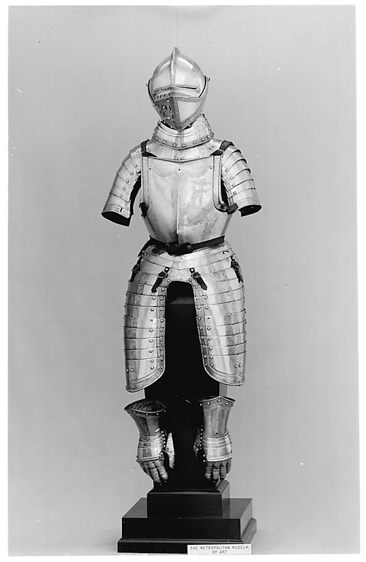 half armour, 1562