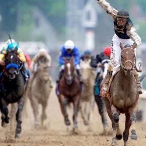 Jockey Silks and Spectators