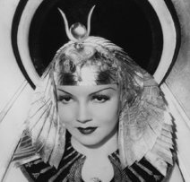 Claudette Colbert as Cleopatra, 1934