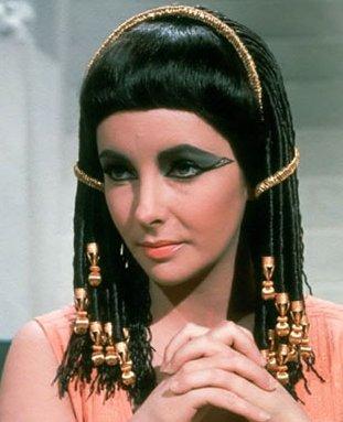 Liz Taylor as mod Cleopatra