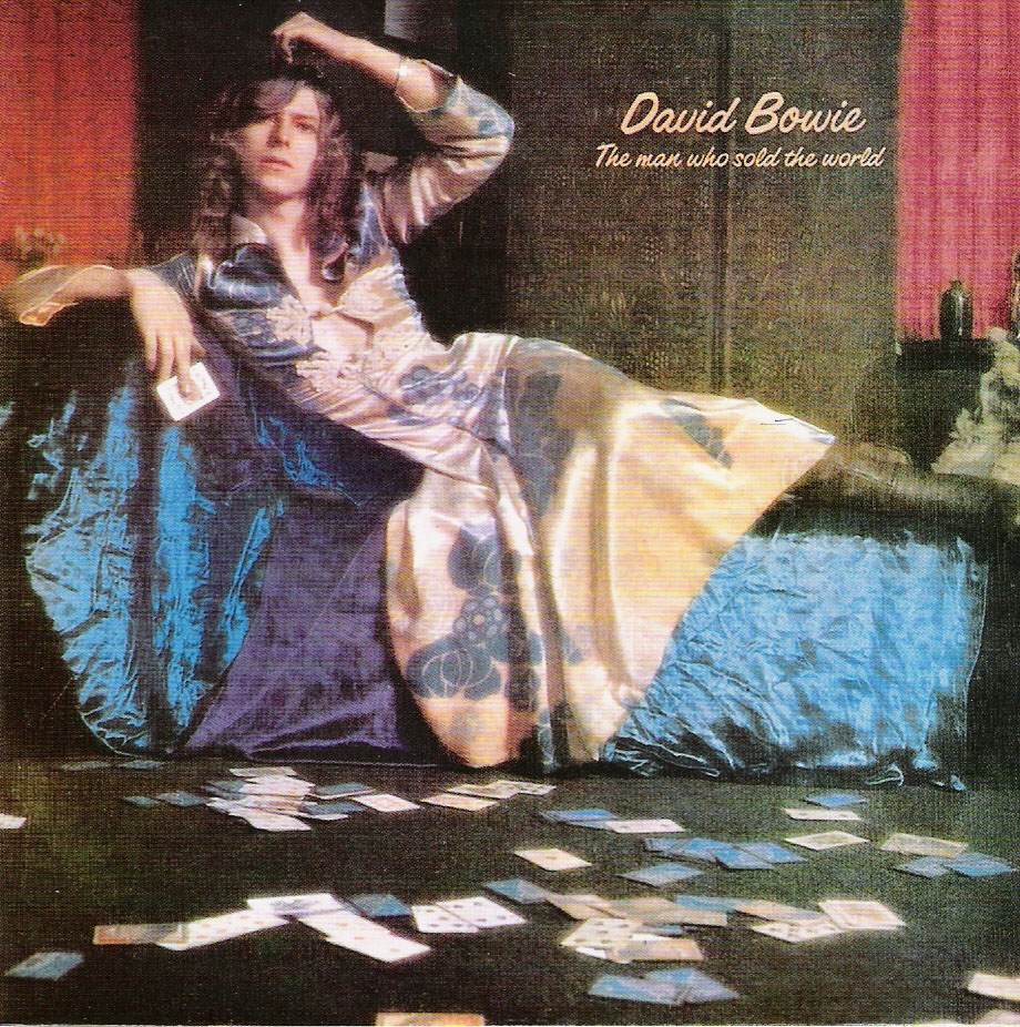 David Bowie, The Man Who Sold the World album cover, 1970