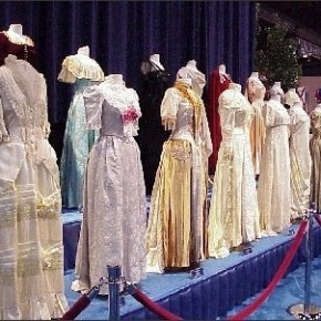 First Ladies' Dresses at the Smithsonian-- lessons learned