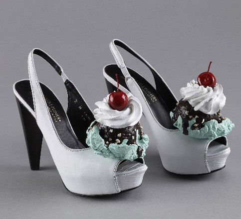 Ice cream shoe, Rhonda Voo