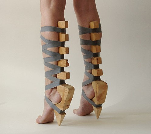 Stilts shoes, Eelko Moorer, 2003