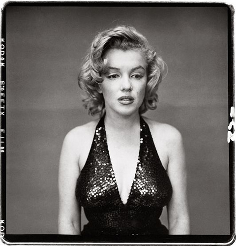 Marilyn Monroe by Richard Avedon, 1957