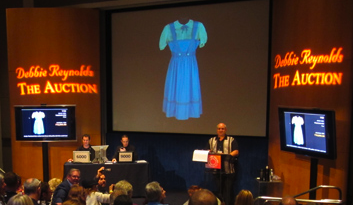 Dorothy dress at auction, 2011