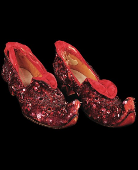 Wizard of Oz Ruby SlippersWizard Of Oz Ruby Slippers Under House