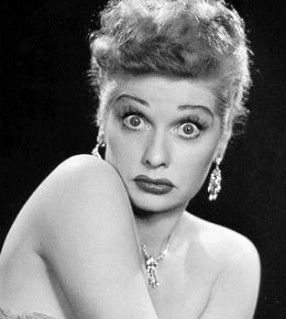 Lucille Ball, Style Icon... In Spite of Herself