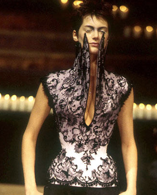 6e0b61c8ac32 corset from McQueen Dante collection, FW96-97   Thread for Thought