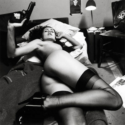 Helmut Newton photo, c. 1990s