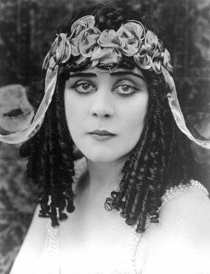 Theda Bara publicity shot for Cleopatra (1917)