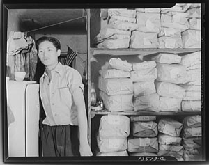 Chinese laundry, Pre-WWII Yonkers, NY