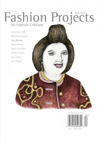 On Fashion Criticism, Fashion Projects cover