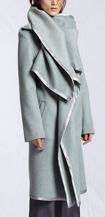 blanket coat, Margiela pre-Fall 2012